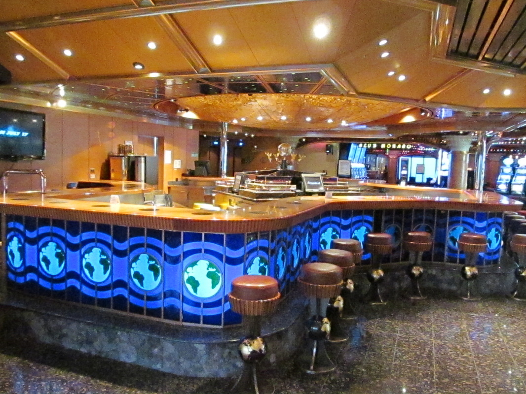 Carnival Triumph Casino Bar