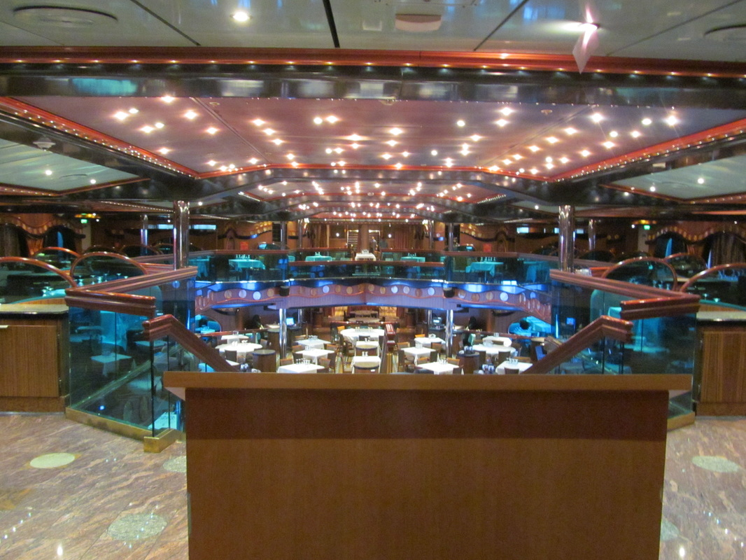 Carnival Triumph London Dining Room