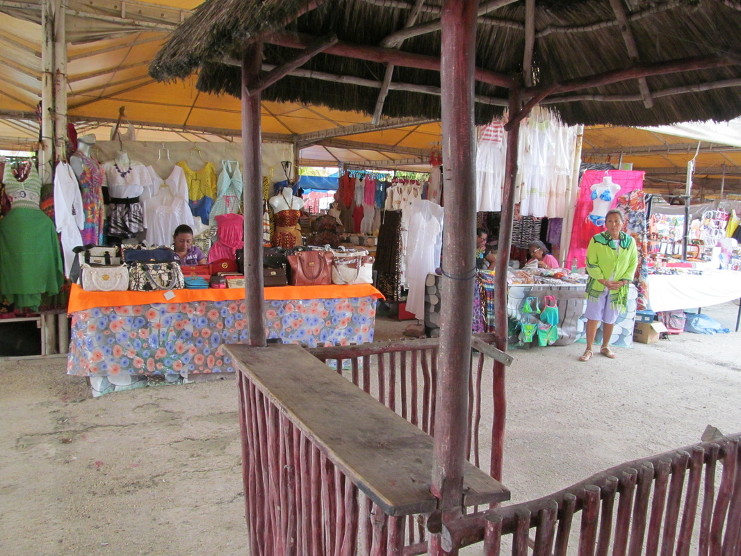 Progreso Mexico Shopping Tent