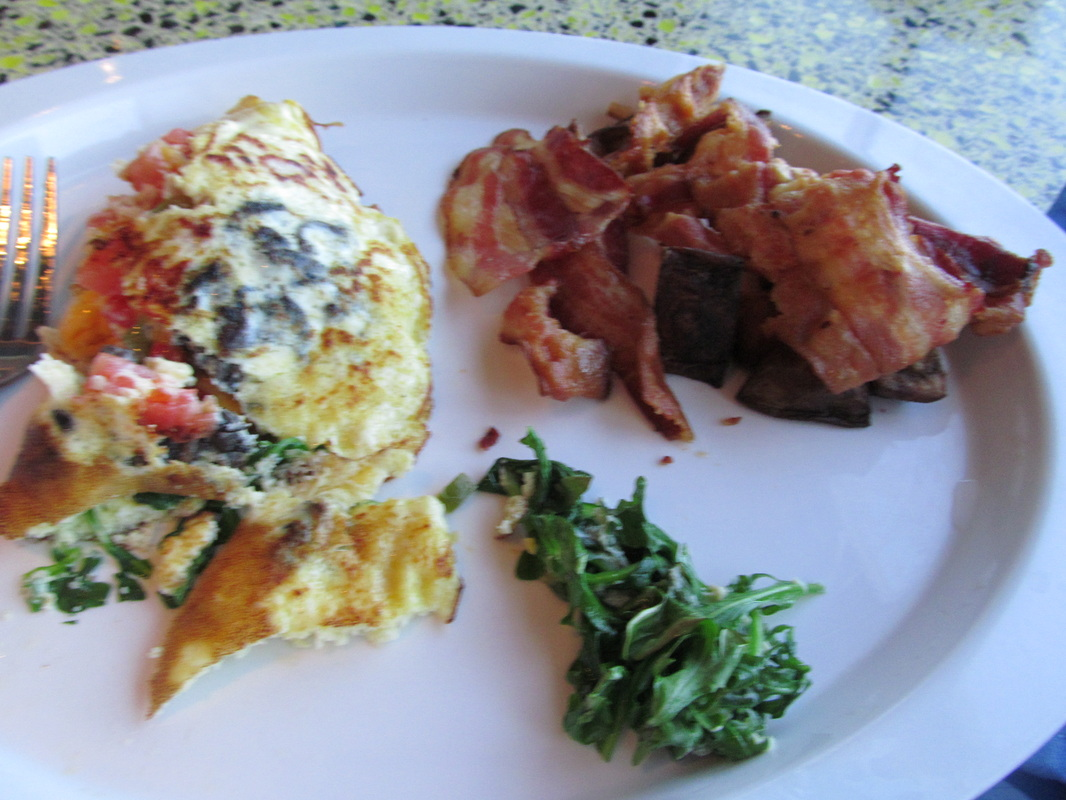 Omelet And Breakfast Food