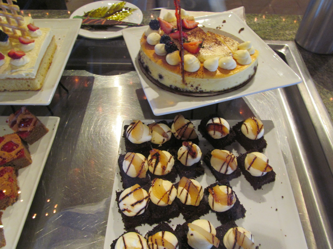 Assorted Foods From The Dessert Station