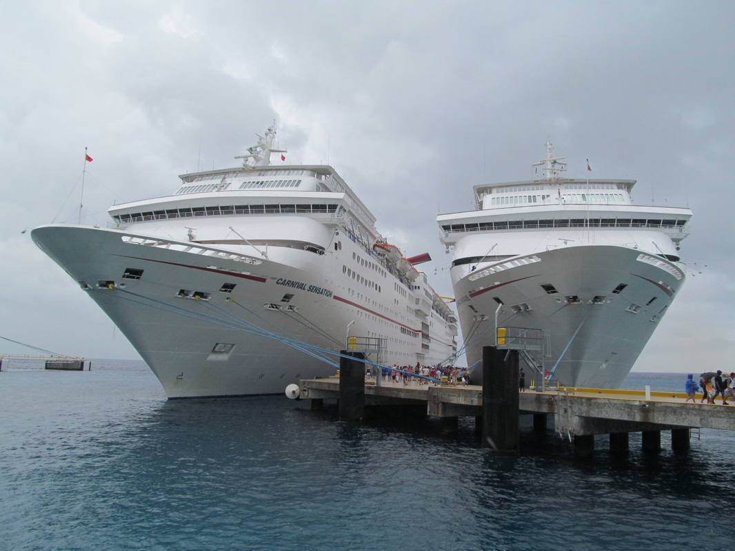 Carnival Sensation and Carnival Paradise