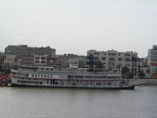 Natchez Docked in New Orleans