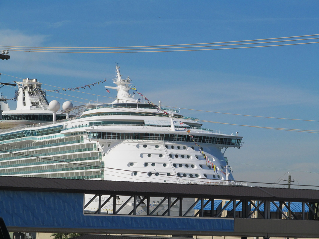 Front of the Navigator of the Seas