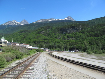 Railroad in Skagway