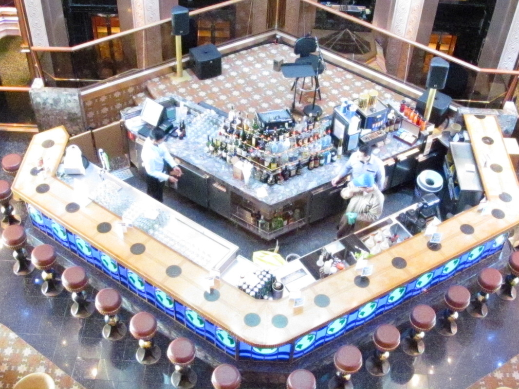Bar at Bottom of Atrium