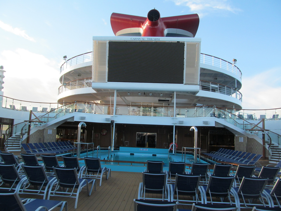 Lido Deck Looking Towards AFT