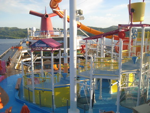 Carnival Magic Waterslide