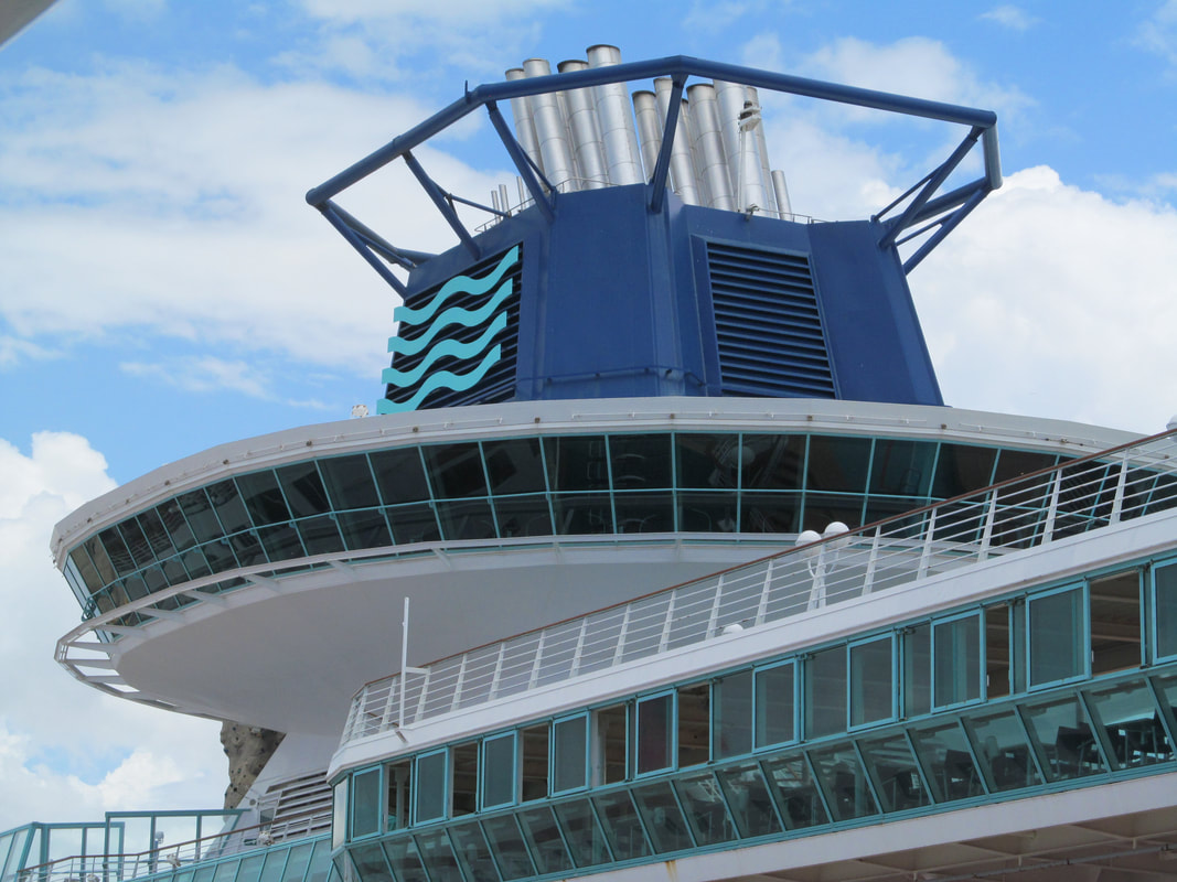 Pullmantur Monarch Ship's Funnel
