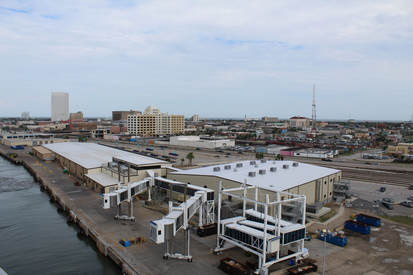 Galvestons Cruise Terminal My Experience On A Carnival - Galveston cruise port