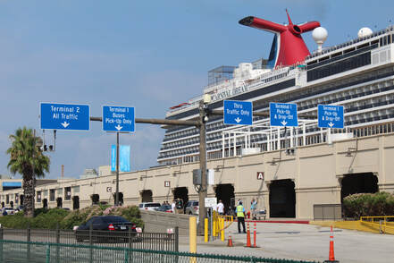 Carnival Dream Docked In Galveston