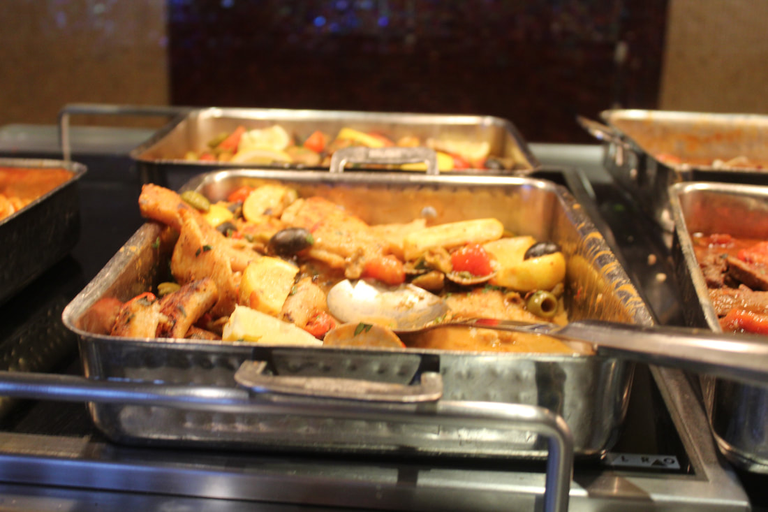 Carnival Freedom Chef's Choice Buffet Line