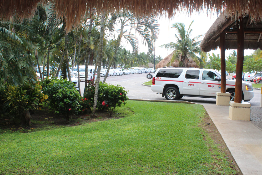 Taxis in Cozumel