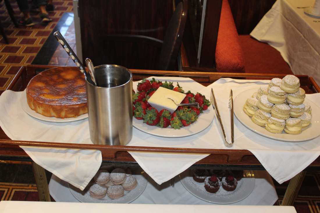 Carnival Cruise Tea Time Desserts