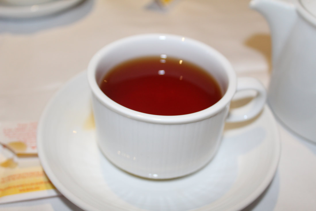 Carnival Freedom Tea Time