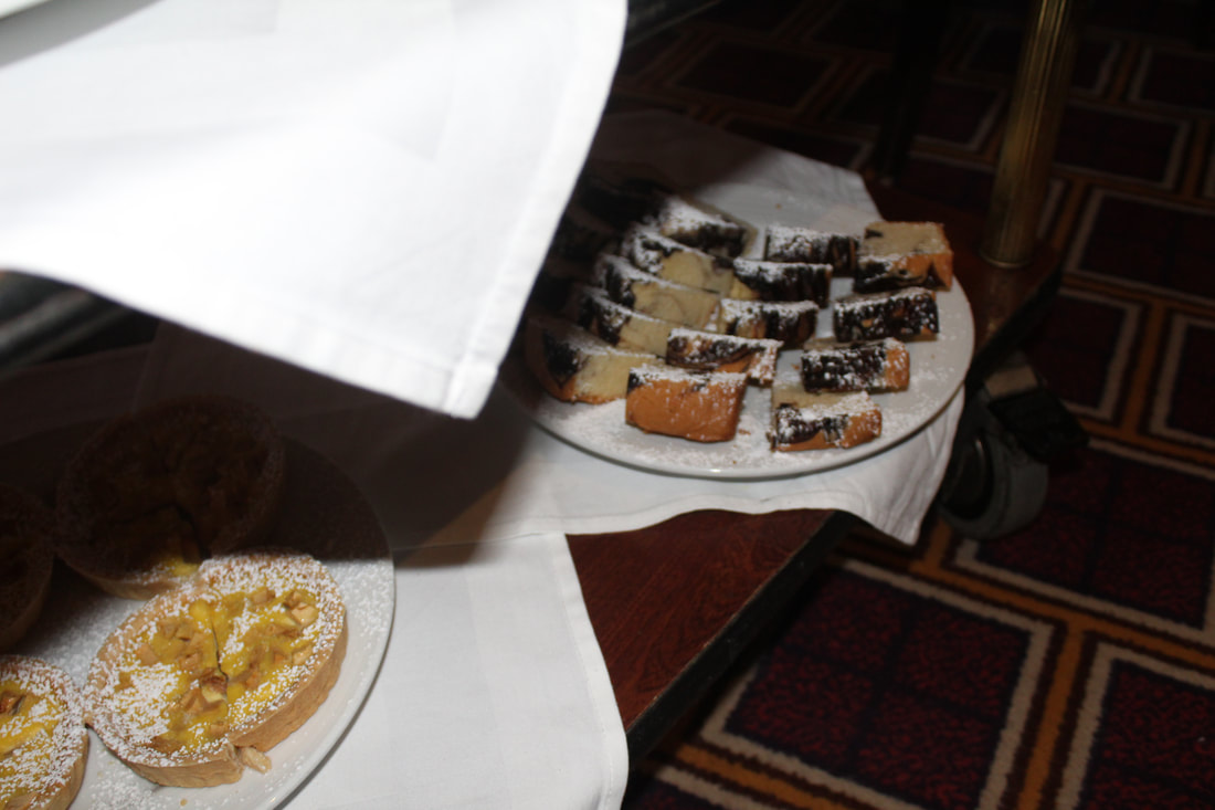 Carnival Freedom Cart of Desserts