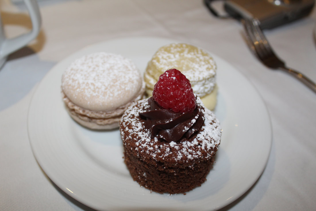 Carnival Freedom Tea Time Desserts