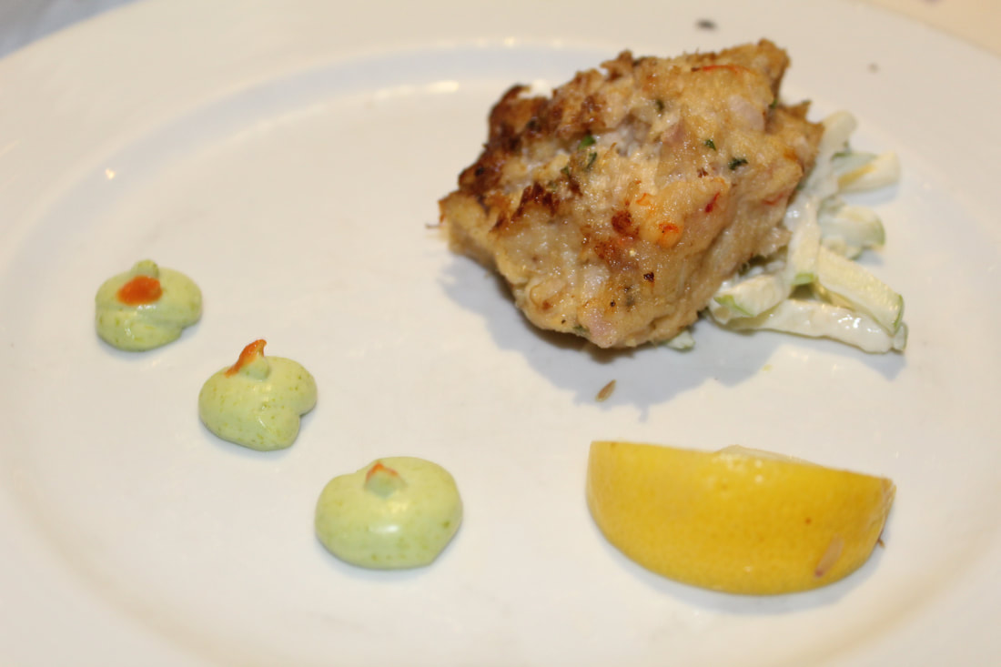 Carnival Freedom Chesapeake Crab Cake