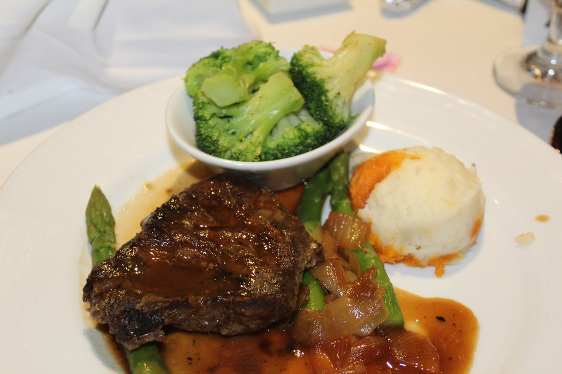 Carnival Freedom Flat Iron Steak