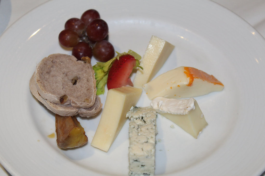 Carnival Freedom Cheese Plate