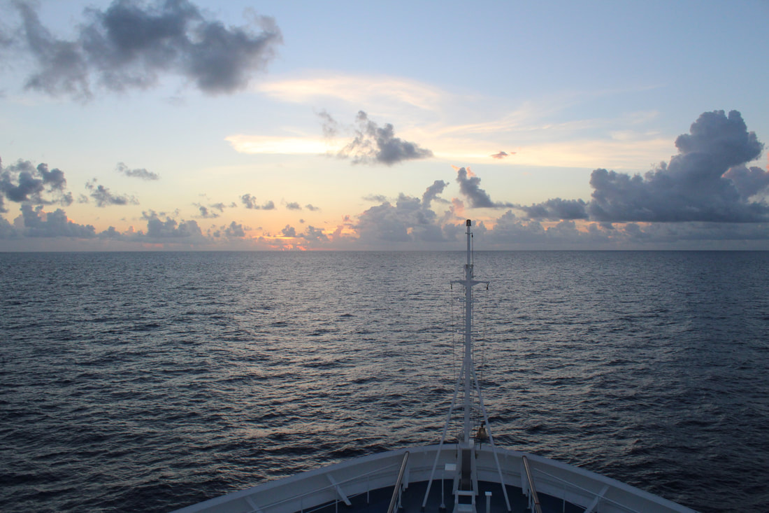Carnival Freedom Sunset
