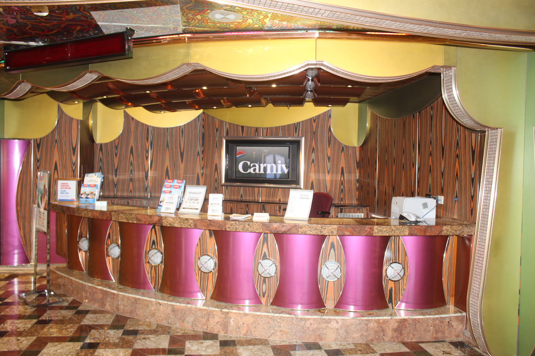 Carnival Freedom Future Cruise & Loyalty Desk
