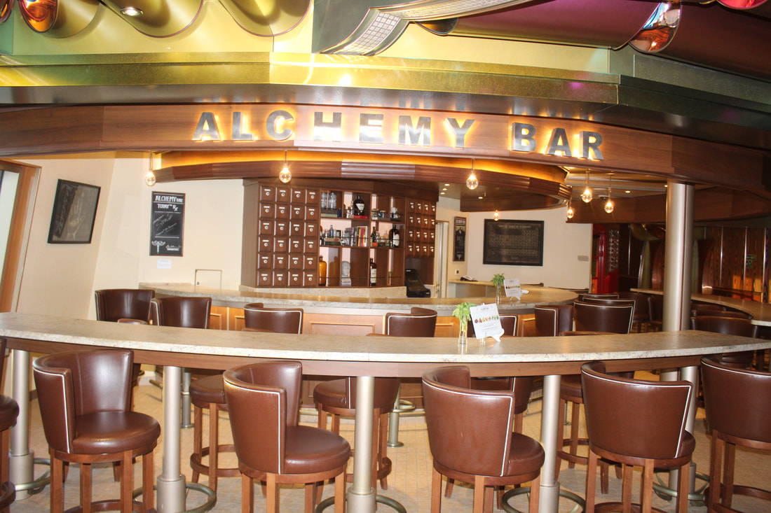 Carnival Freedom Alchemy Bar