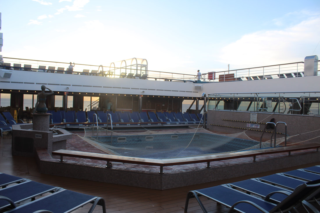 Carnival Freedom Lido AFT Pool