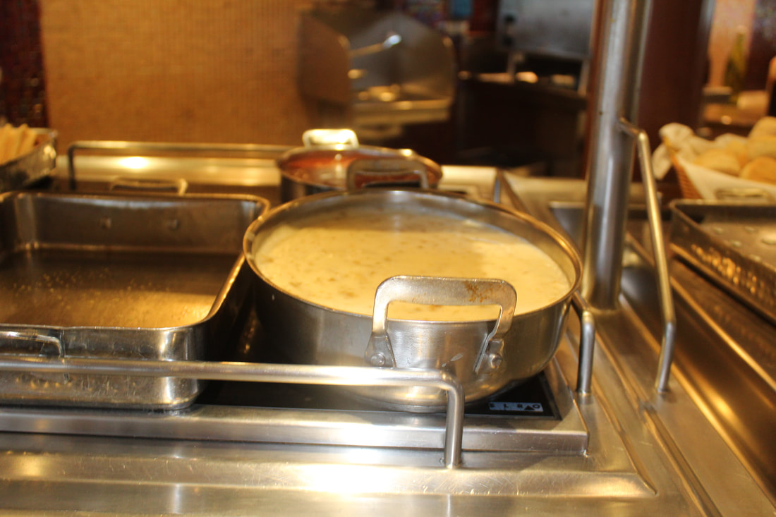 Carnival Cruise Lido Breakfast Buffet Gravy