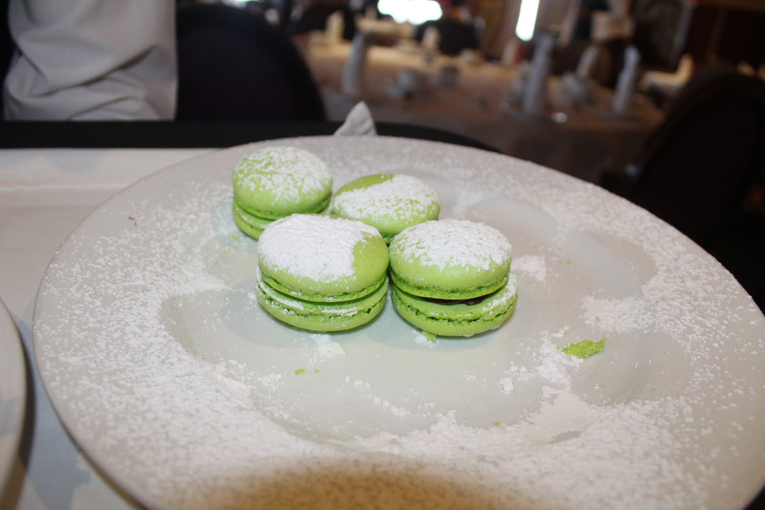 Carnival Cruise Tea Time Macaroons