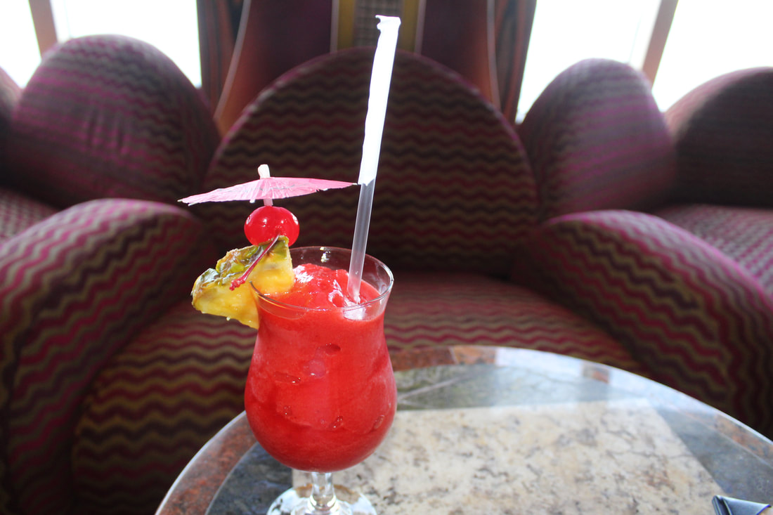 Carnival Freedom Strawberry Smoothie