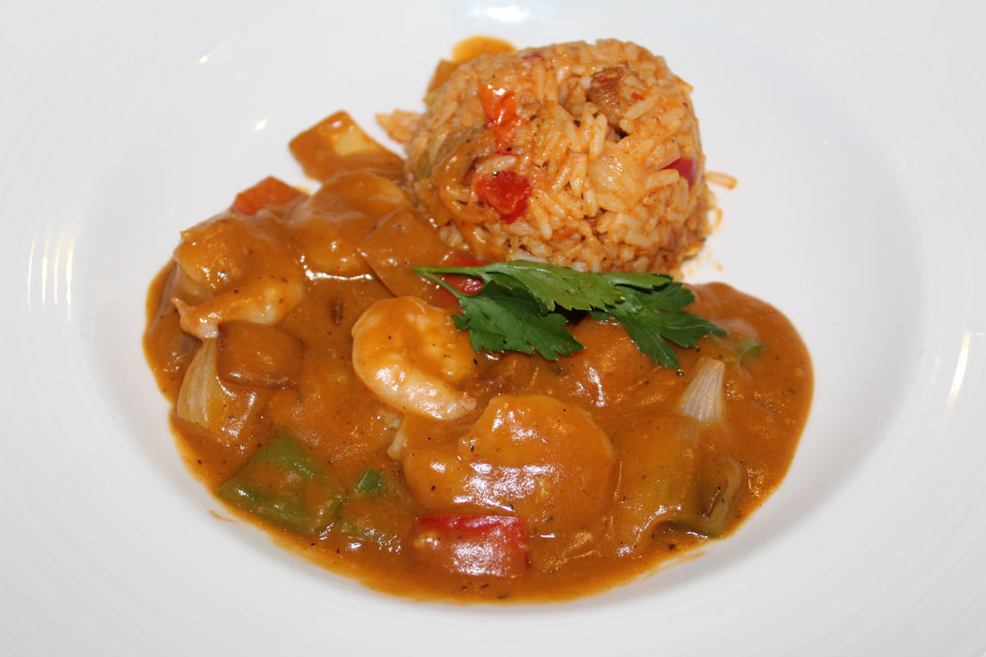 Carnival Freedom Tiger Shrimp Creole