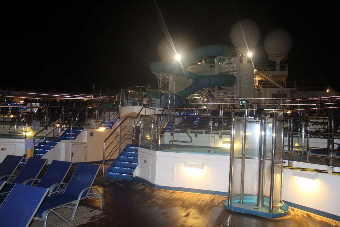 Carnival Freedom Lido Deck