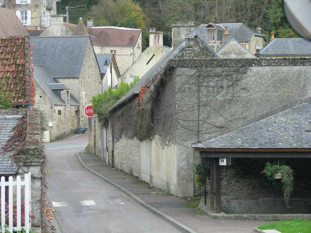 Very narrow roads through the villages