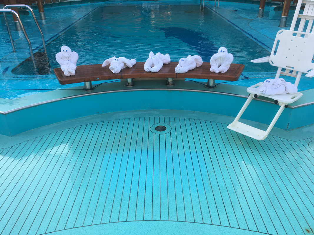 Carnival Vista Towel Animals By The Pool