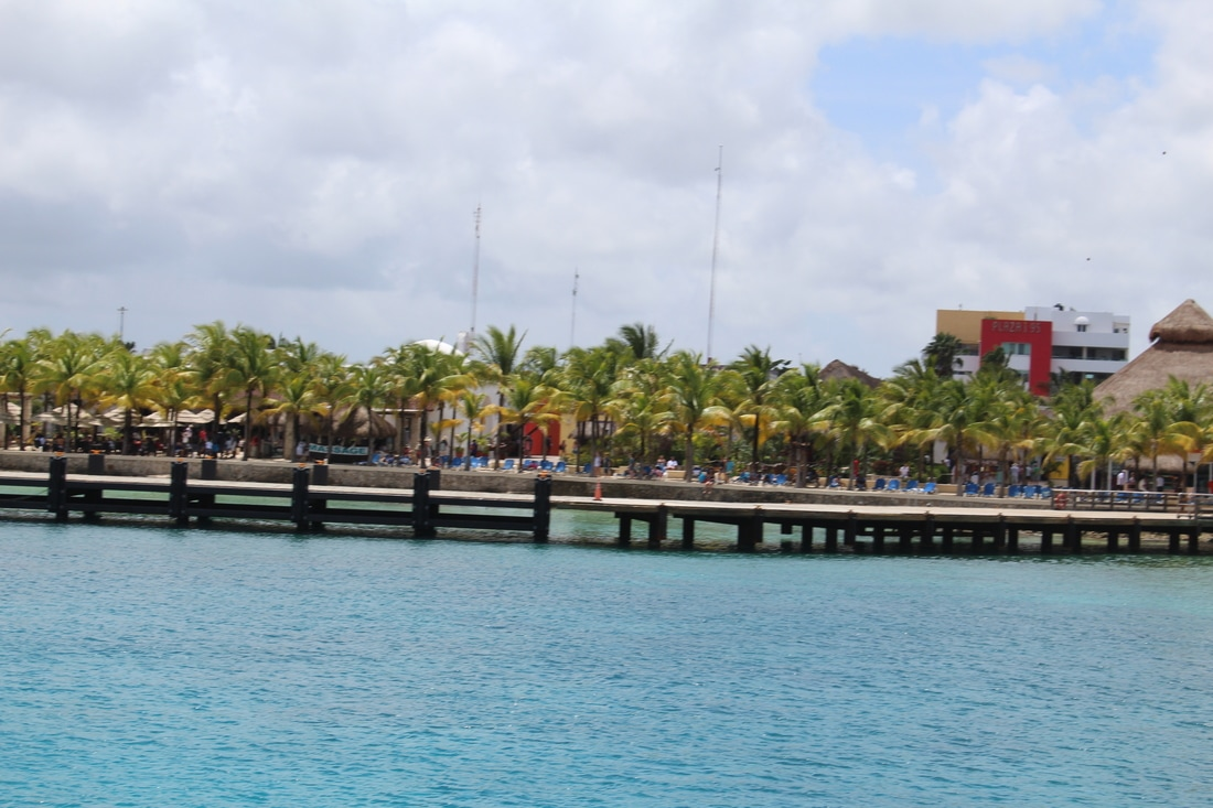 View Of Puerta Maya - From The Pier