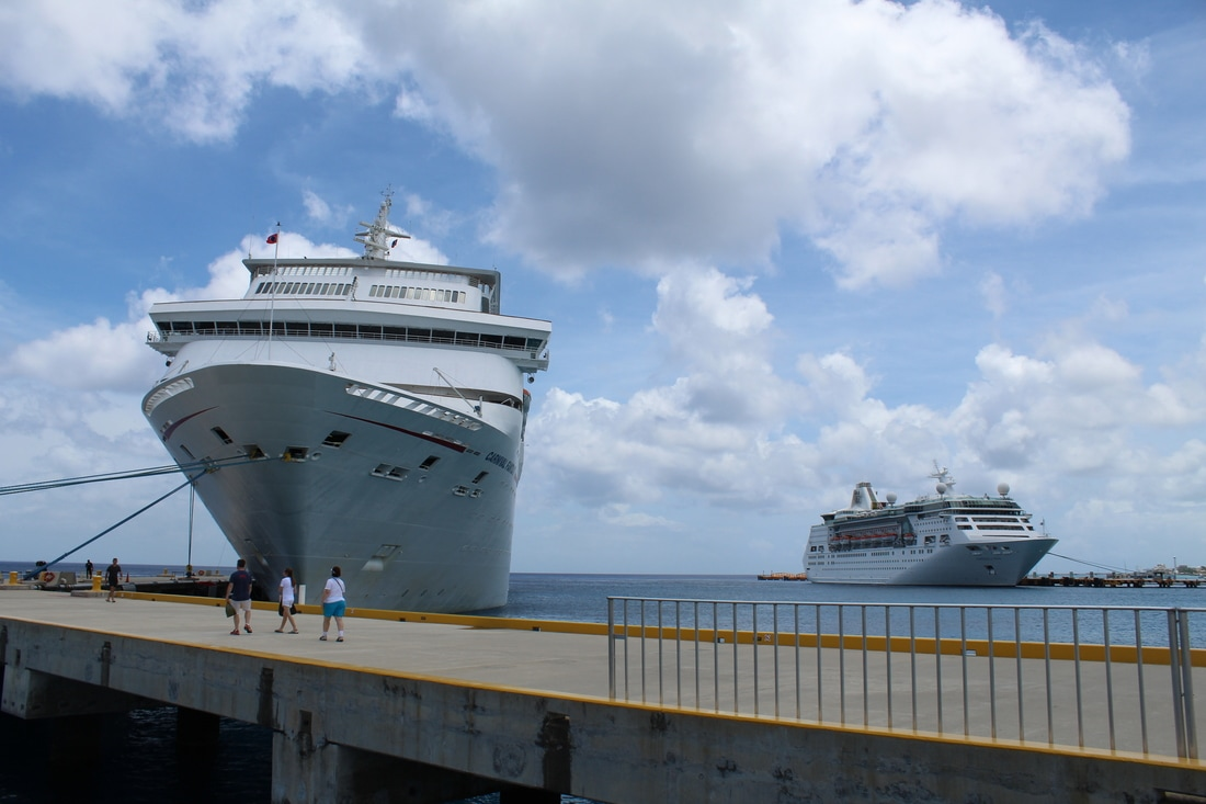 Carnival Fantasy and Empress of the Seas