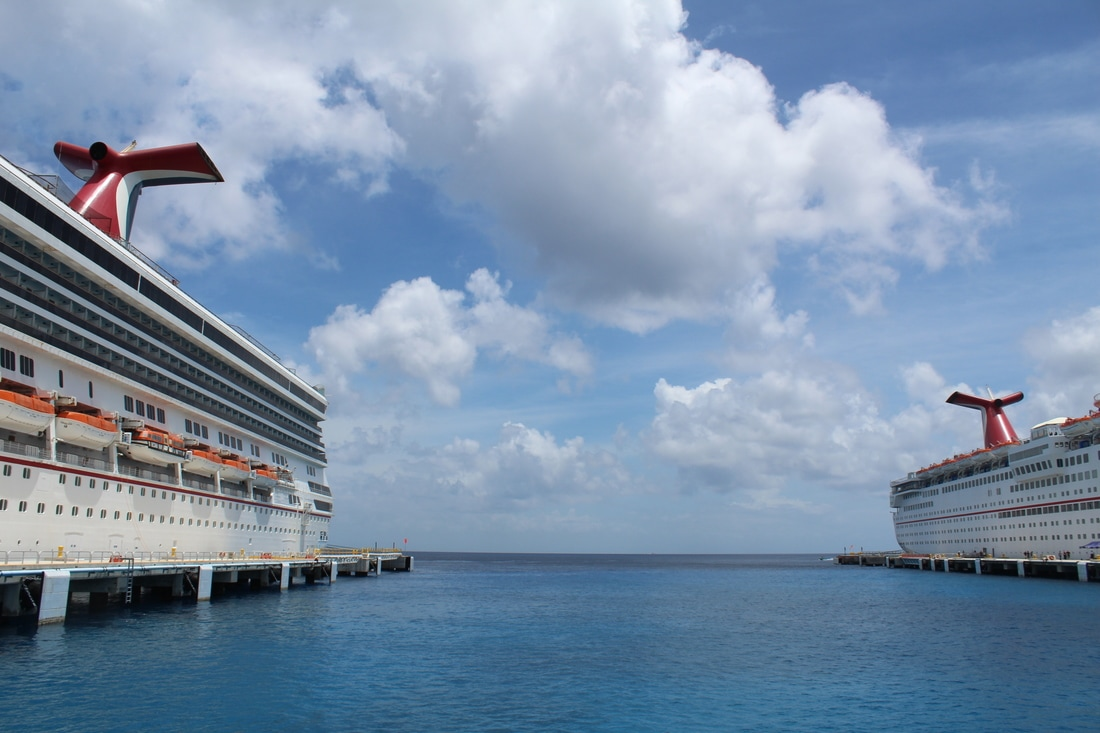 Carnival Valor and Carnival Fantasy