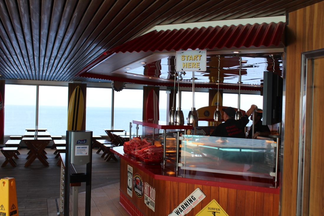 Carnival Valor Guy's Burger Joint