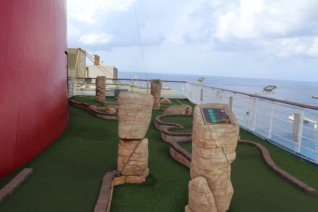 Carnival Valor Mini Golf Course