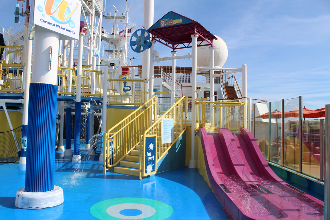 Carnival Valor Volleyball Court