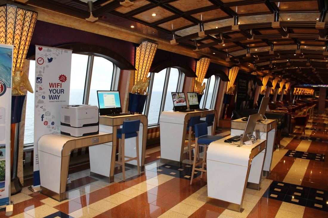 Carnival Valor Internet Cafe