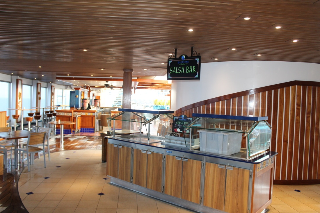 Blue Iguana Cantina on the Carnival Valor