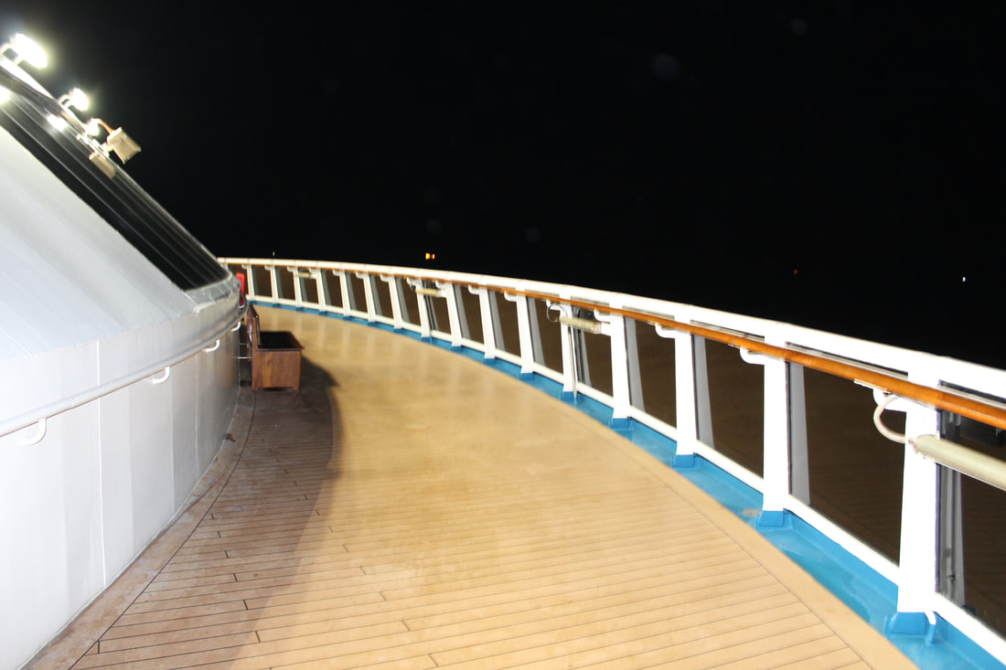Carnival Valor Lido Pool Area