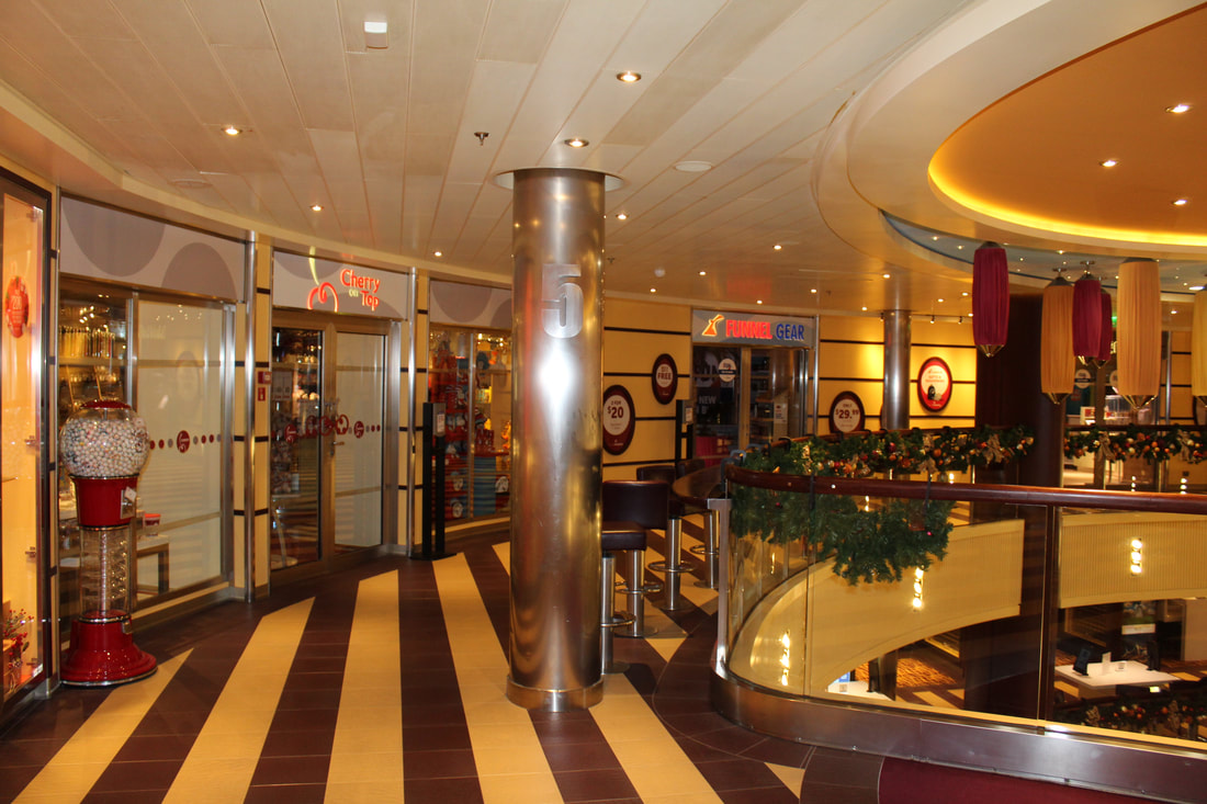 Carnival Valor Main Breakfast Buffet