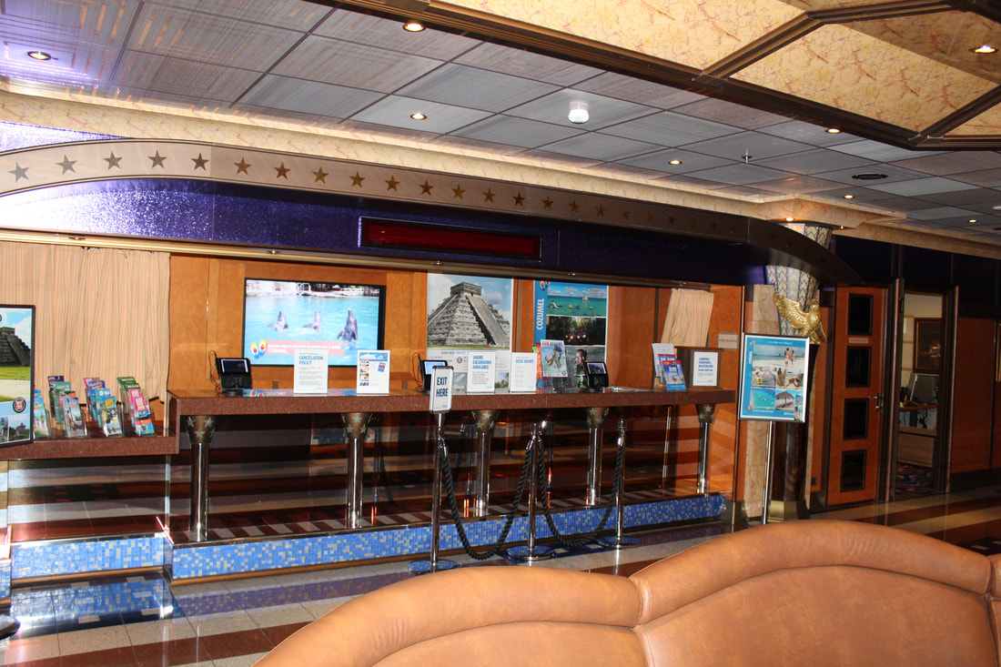 Carnival Valor Shore Excursions Desk