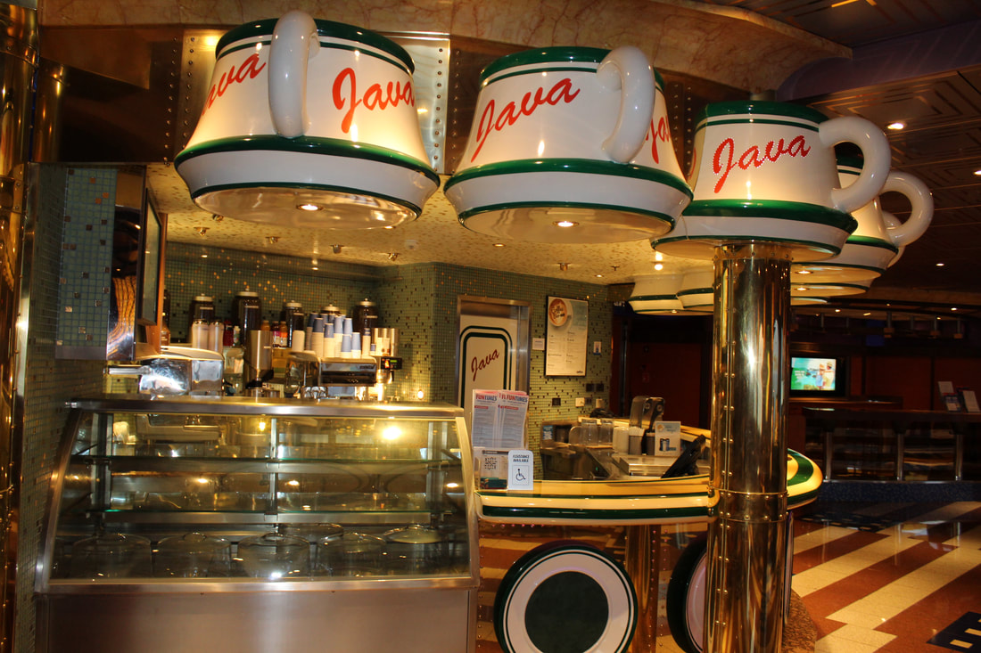 Carnival Valor Java Coffee Bar