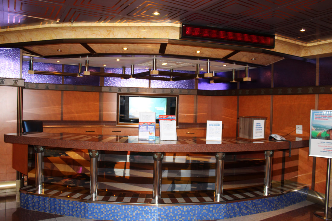 Carnival Valor Future Cruise Desk