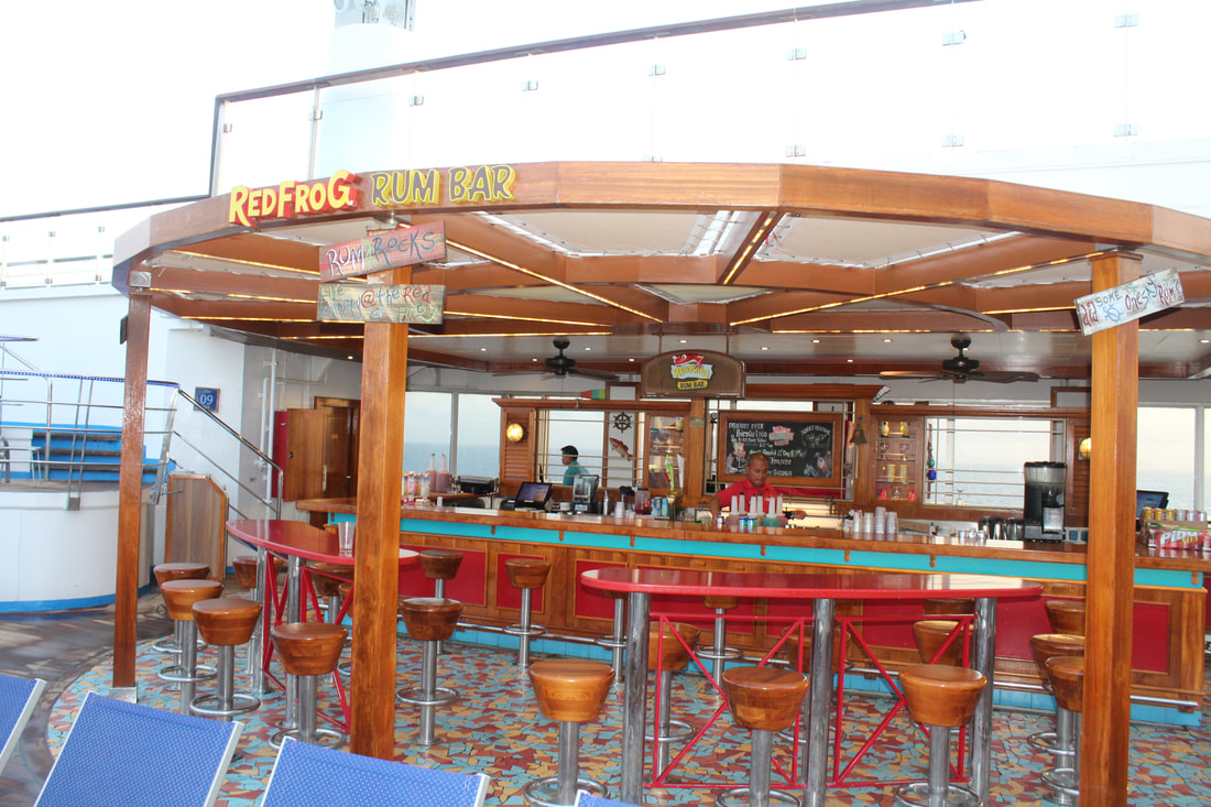Carnival Valor Red Frog Rum Bar