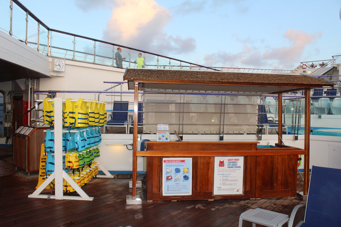 Carnival Valor Towel Station